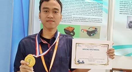 Alhamdulillah, Ponco Sukaswanto Memperoleh Gold Medal, pada Kompetisi Penemu Inovasi Dunia Shanghai International Exhibition of Invention (SIEI) 2019